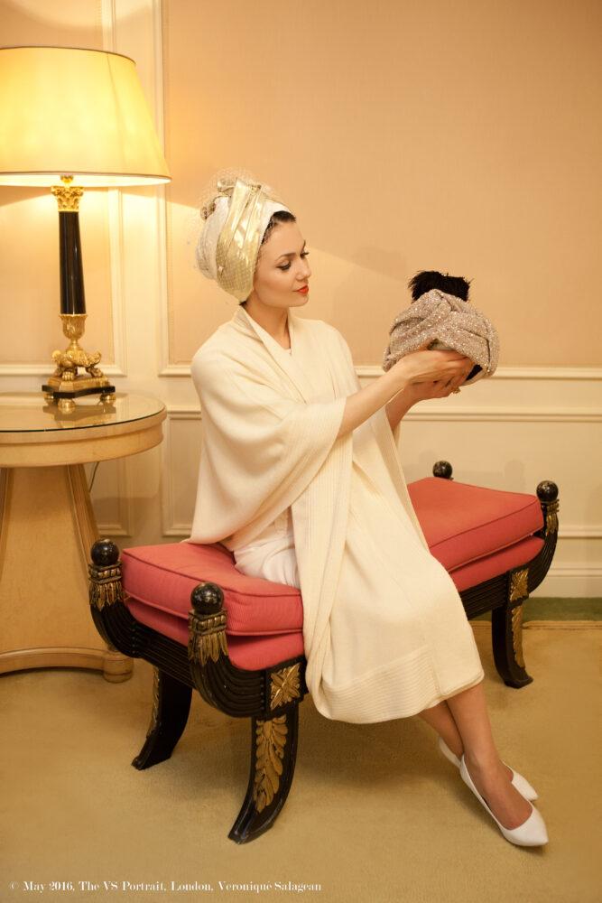 Veronique Salagean, The VS Portrait, world's first Turban Designer