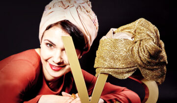 Designer Veronique Salagean: I am the inventor and lover of the contemporary turban